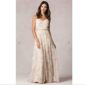 Jenny Yoo Inesse print bridesmaid dress sz 2